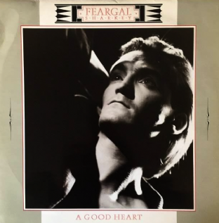 "Feargal Sharkey ‎- A Good Heart (12"") (VG-/VG-)"